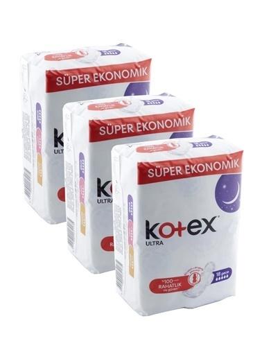 Kotex Kotex Ultra Quadro 18 Li Gece x 4,RNKSZ Renksiz
